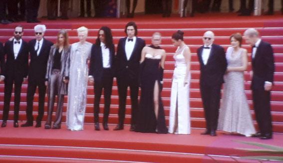 Cannes dag 1: dinsdag 14 mei